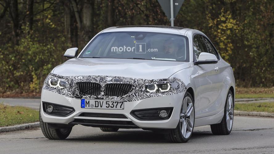 2018 BMW 2 Series Coupe facelift spy photos