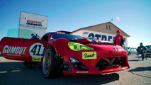 Toyota GT4586 on track