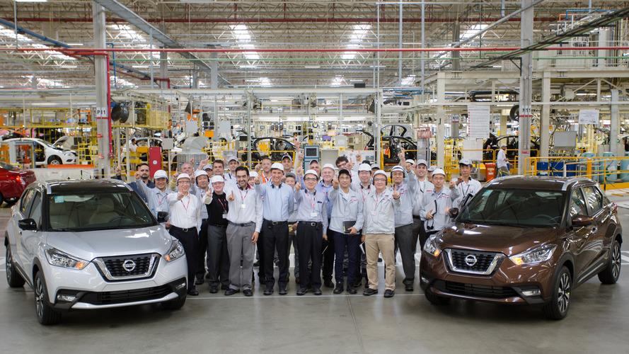 Primeiros Nissan Kicks de testes são finalizados na fábrica de Resende (RJ)