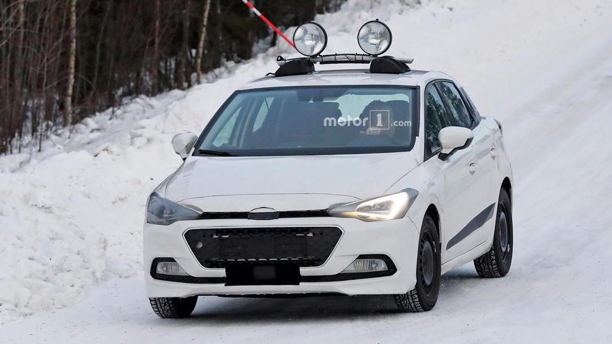 Seat Ibiza spy shots in snow