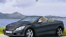 2008 Mercedes CLK Cabrio illustration
