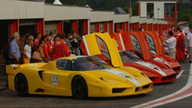 Ferrari FXX in Action at Spa-Francorchamps