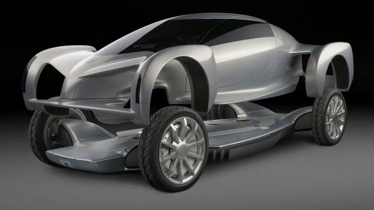 2002 General Motors AUTOnomy Fuel Cell Concept