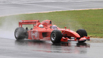 Ferrari F1 3-seater Marlboro Red Rush spied testing in Fiorano
