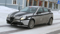 Alfa Romeo Giulietta On the Road and First Interior Spy Photos - 24.01.2010