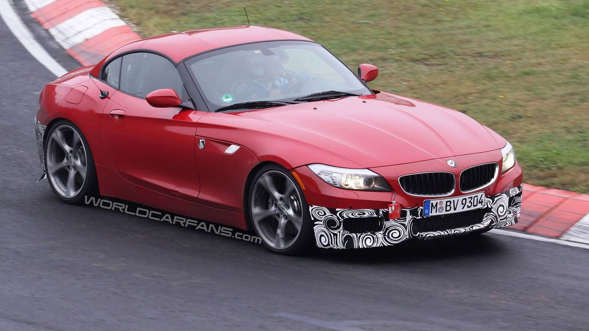 Bmw Z4 With M Sport Package Caught Testing