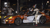 Porsche 911 GT3 R Hybrid at ALMS round 9 in Road Atlanta, USA 04.10.2010