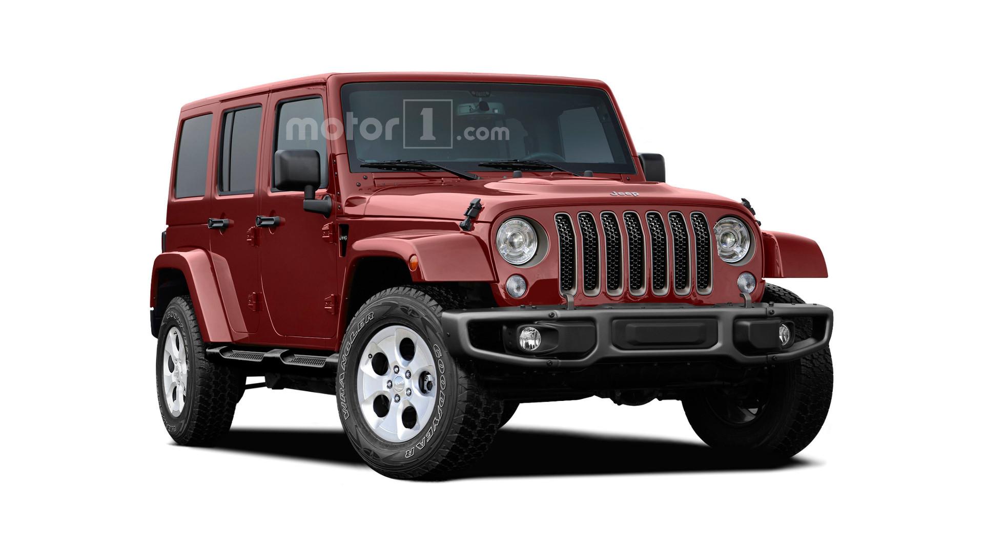 Next-gen Jeep Wrangler will have aluminum doors and hood