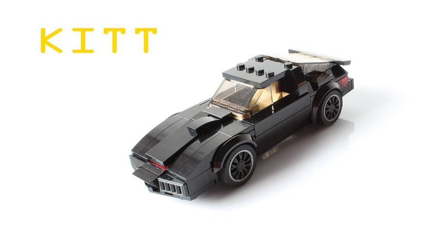 How fast can you build a Knight Rider Lego kit?