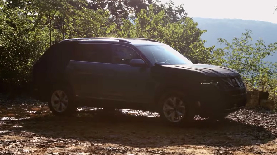 VW midsize SUV dimensions, engine outputs teased in new video
