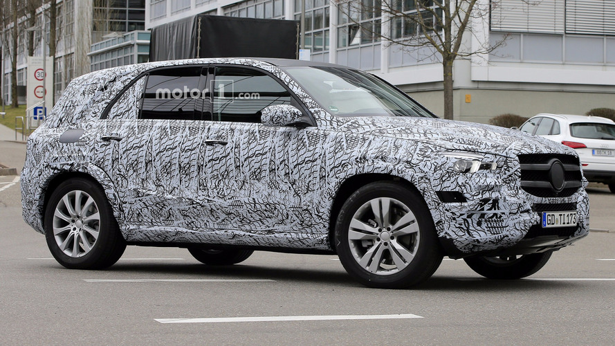 2019 Mercedes GLE Spied Inside And Out