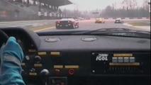 Watch Ferrari F40 race car blow away the field in this retro video