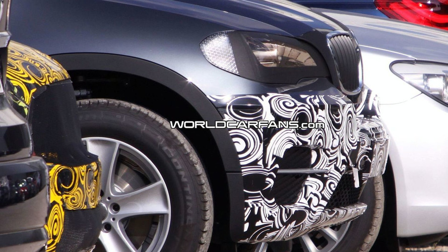 2010 BMW X5 Facelift Spy Shots Show More Details