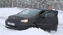 Citroen DS4 winter spy photos 26.02.2010