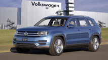Volkswagen CrossBlue production confirmed for late 2016 at Chattanooga plant