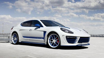 Porsche Panamera receives flashy body kit from TopCar