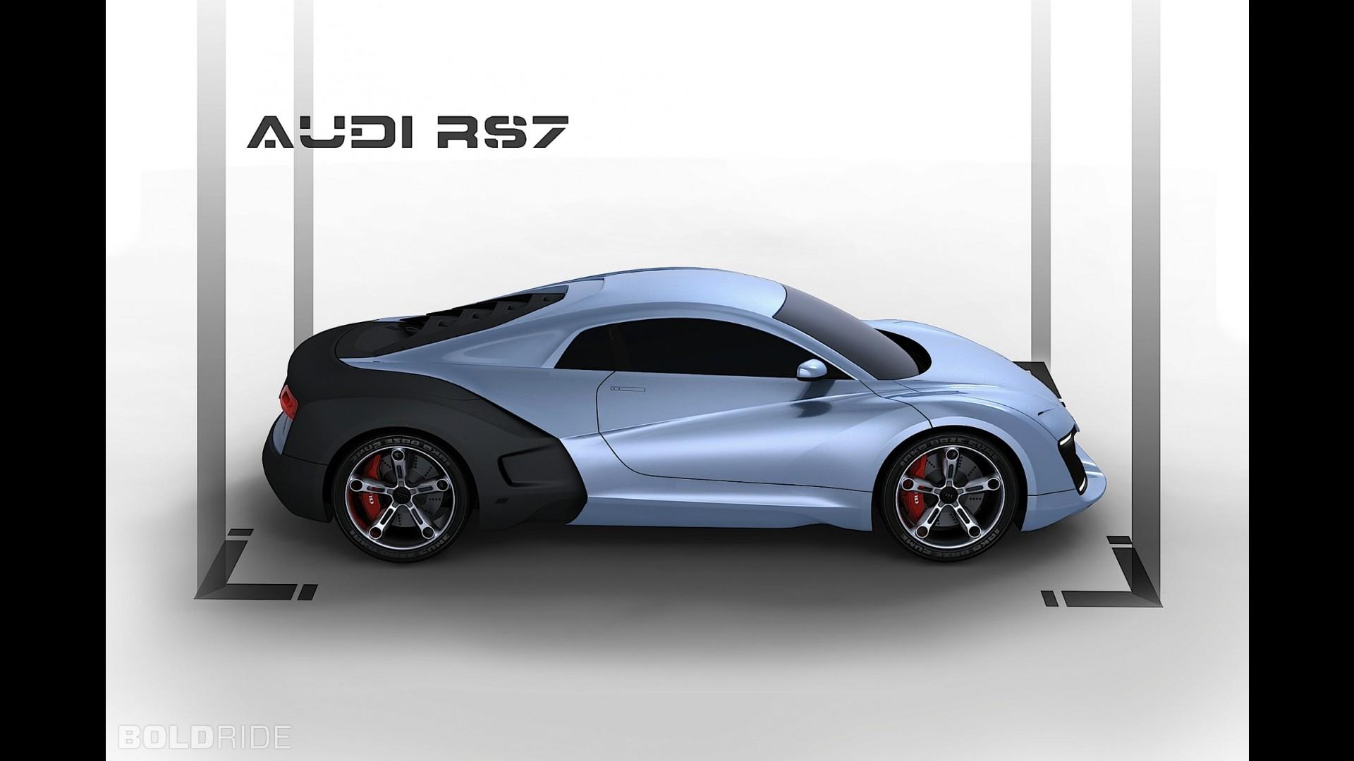 Audi RS7 Concept by Adriano Mudri
