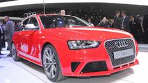 2012 Audi RS4 Avant live in Geneva 06.03.2012