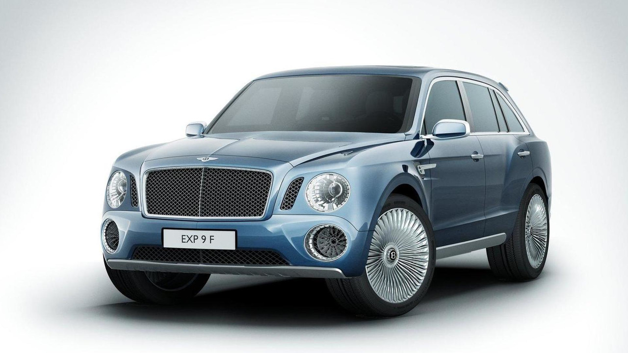Bentley EXP 9 F SUV concept