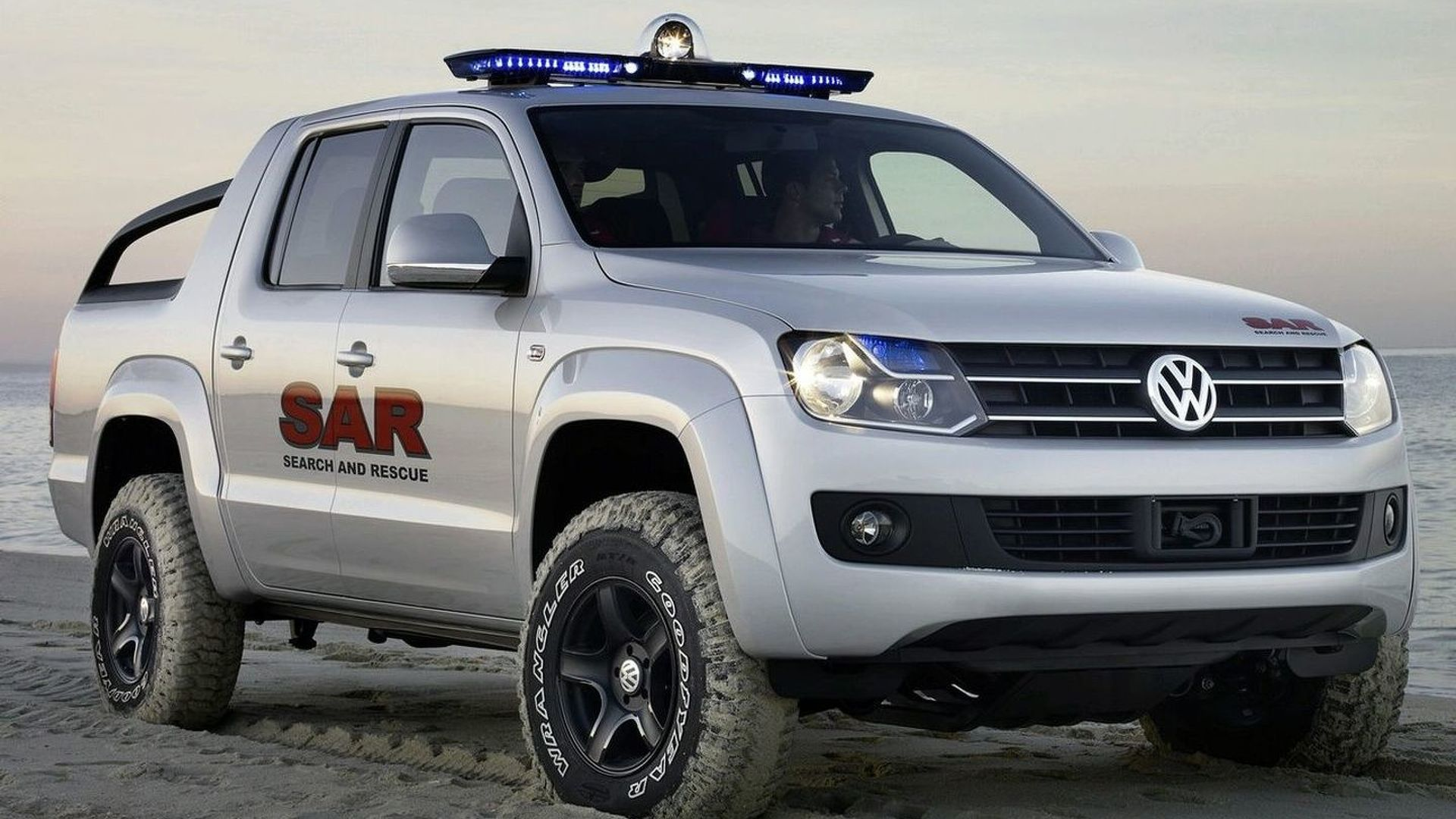 VW Amarok Pickup to be Official Vehicle for Dakar Rally