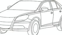 Leaked Suzuki Kizashi Drawings Reveal Final Design Shape