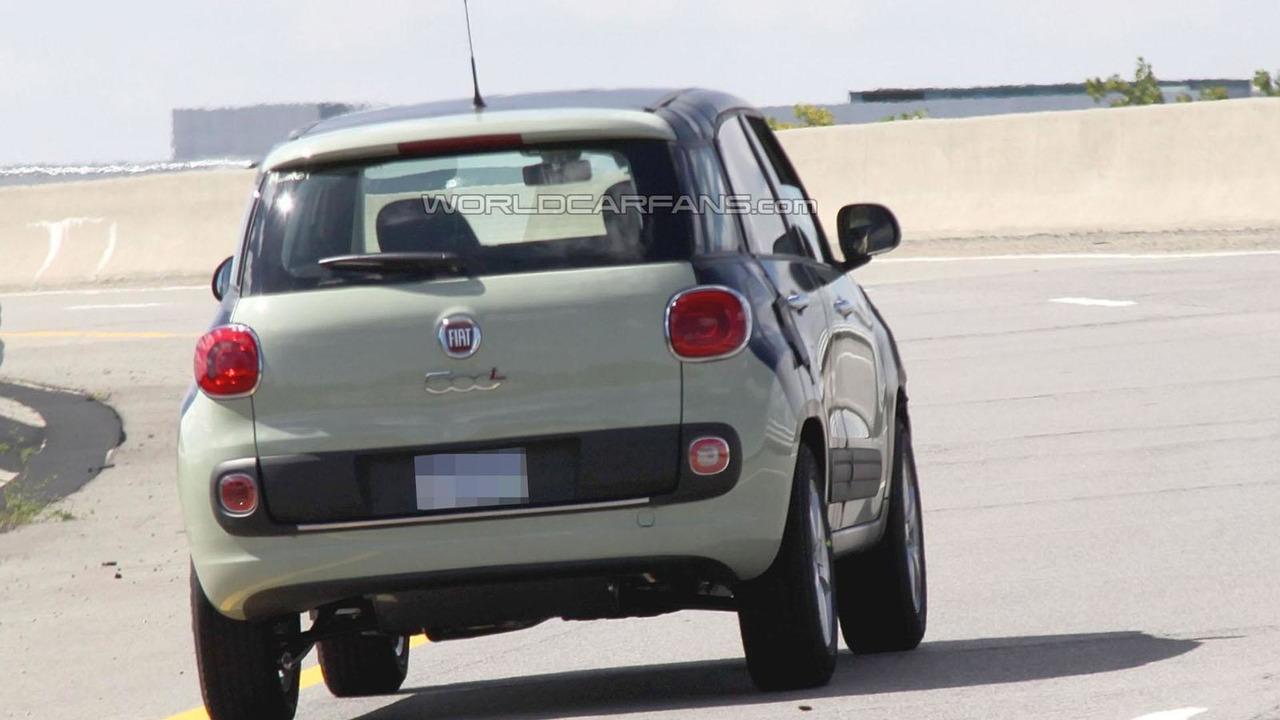 Fiat 500X / Jeep Junior spy photo