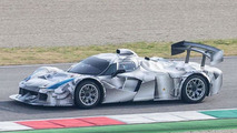 Camouflaged Ferrari prototype spied, could be a LMP1 racer