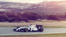 Williams reveals livery, Dennis vows to win