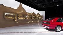 Audi Home of quattro exhibit for Design Miami/Basel 11.6.2013