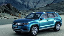 Volkswagen reaffirms their commitment to build a seven-seat crossover