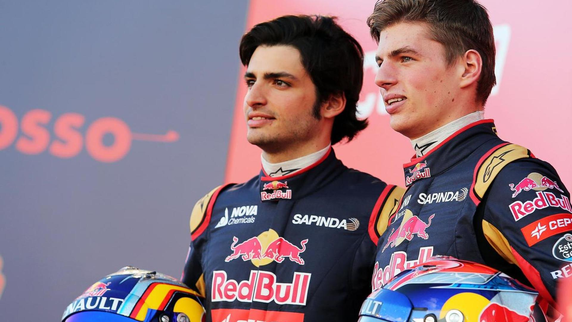 Verstappen getting on with 'rival' Sainz