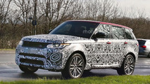 Range Rover Sport SVR facelift spy photo