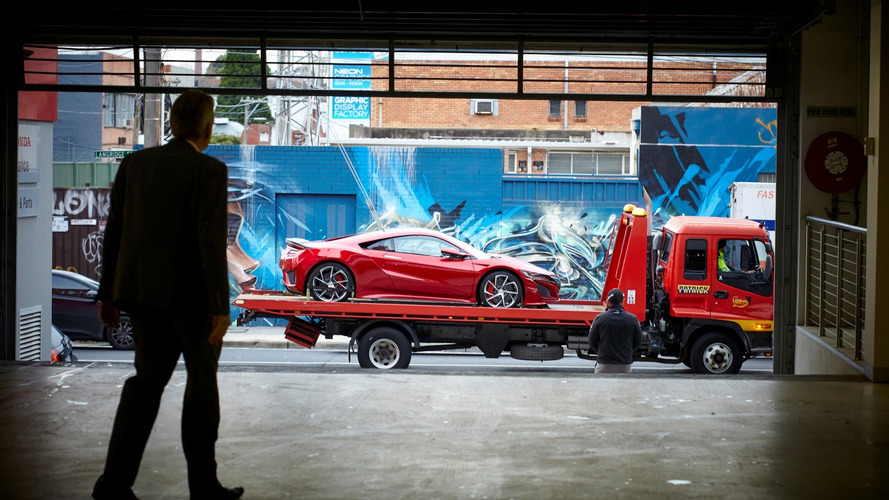 First Honda NSX arrives in Australia