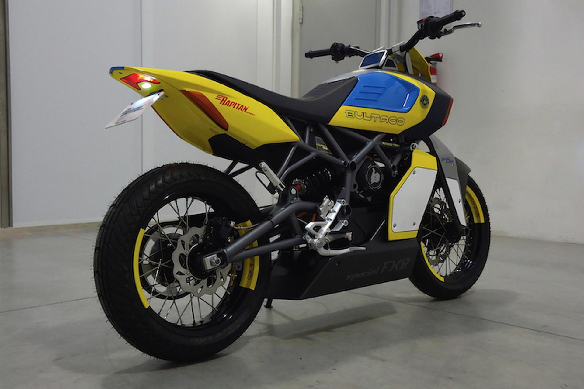 Rapitan E-Motorcycle Marks Bultaco's Return to the Bike Business