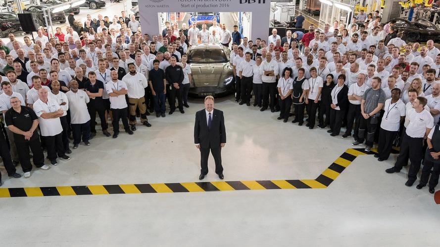 Aston Martin DB11 production starts