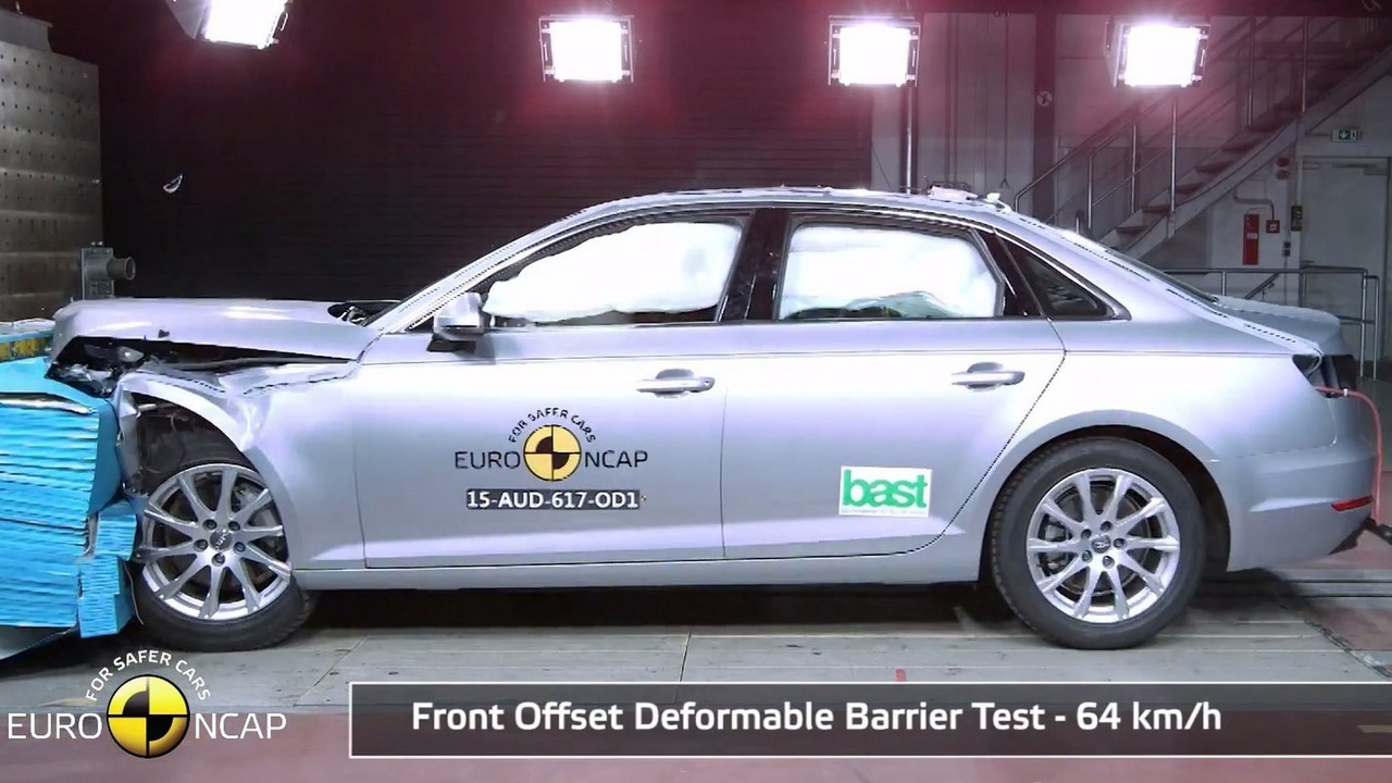 Audi A4 Euro NCAP crash test