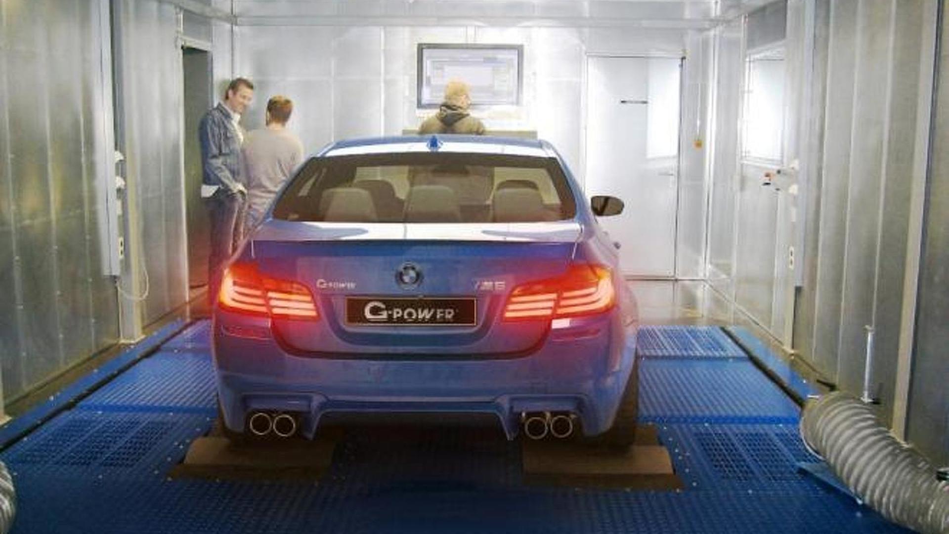 G-Power teases BMW M5 F10 tuning program