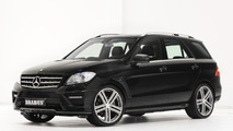Mercedes-Benz M-Class tuned by Brabus