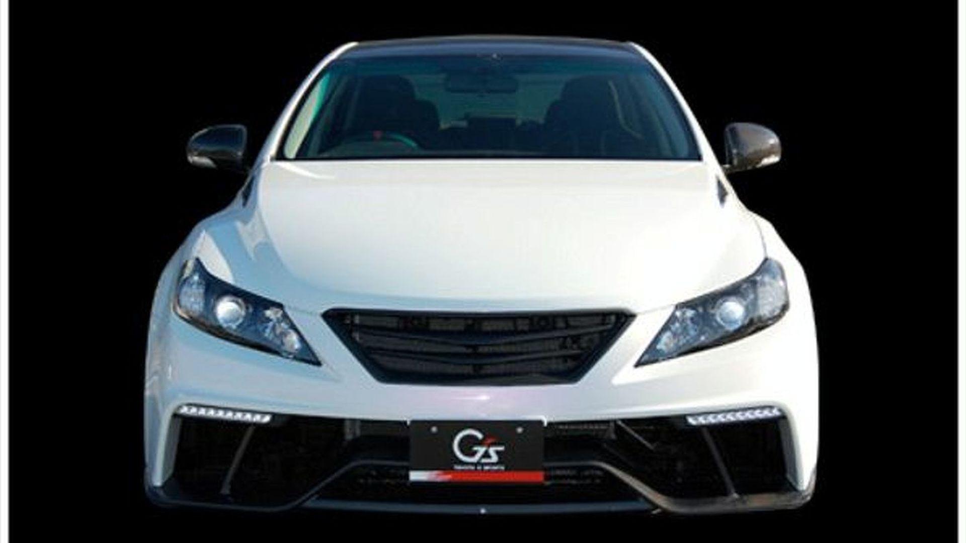 Toyota Mark X G Sports Concept Debut for Tokyo Auto Salon