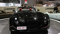 Wiesmann MF4 Roadster at Geneva 2009