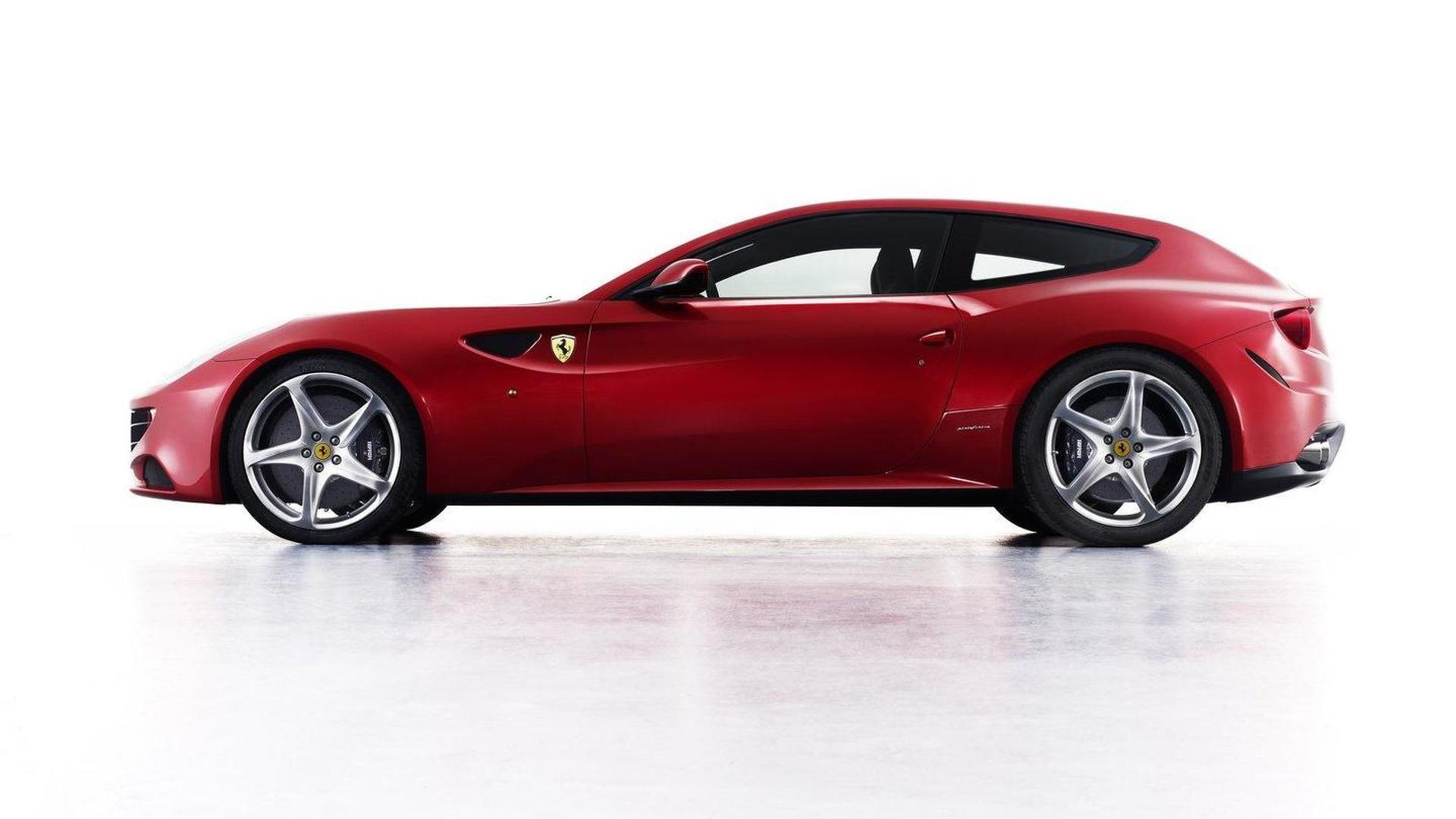 Ferrari Four concept gets web unveiling [video]