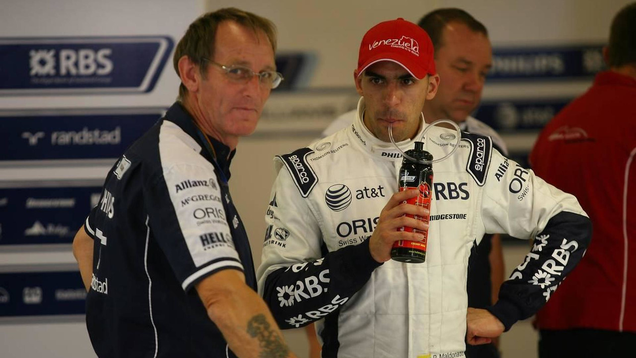 Pastor Maldonado (VEN), Williams F1 Team - Formula 1 Testing, 17.11.2010 Abu Dhabi