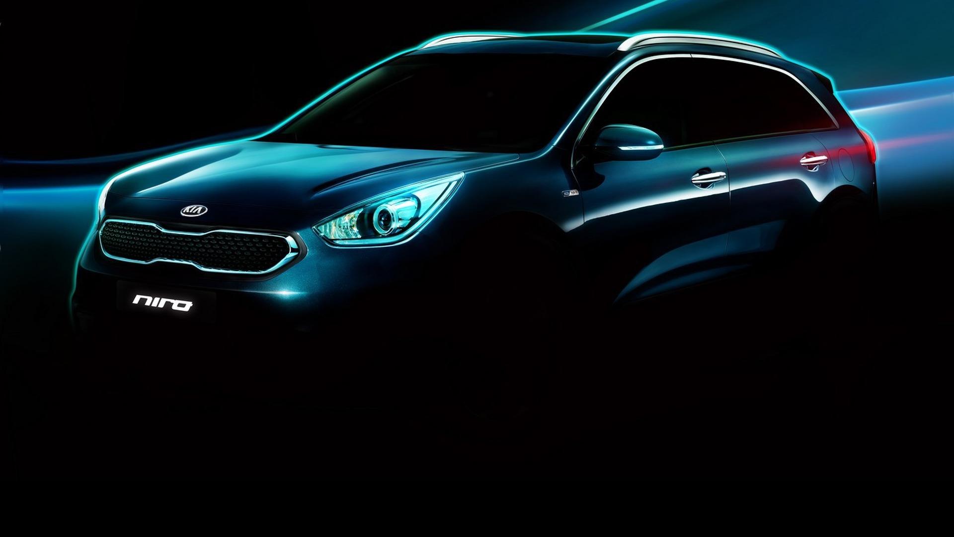Kia teases Niro Hybrid Utility Vehicle ahead of Chicago debut