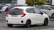 2015 Honda Jazz spied testing in European skin