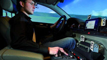 Audi simulator cameras monitor eye movements 01.03.2012