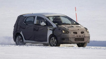 Hyundai ix30 MPV/Crossover spied dancing on ice