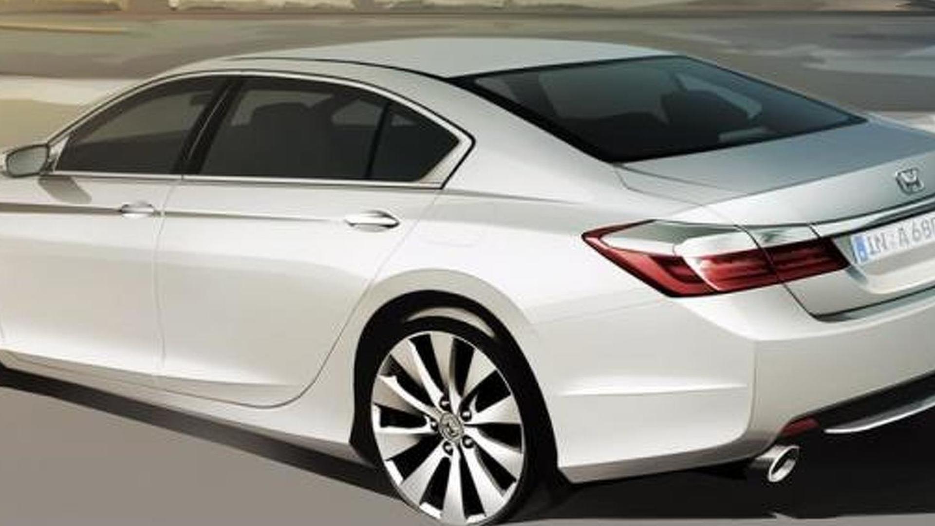 Russian-spec Honda Accord teased?