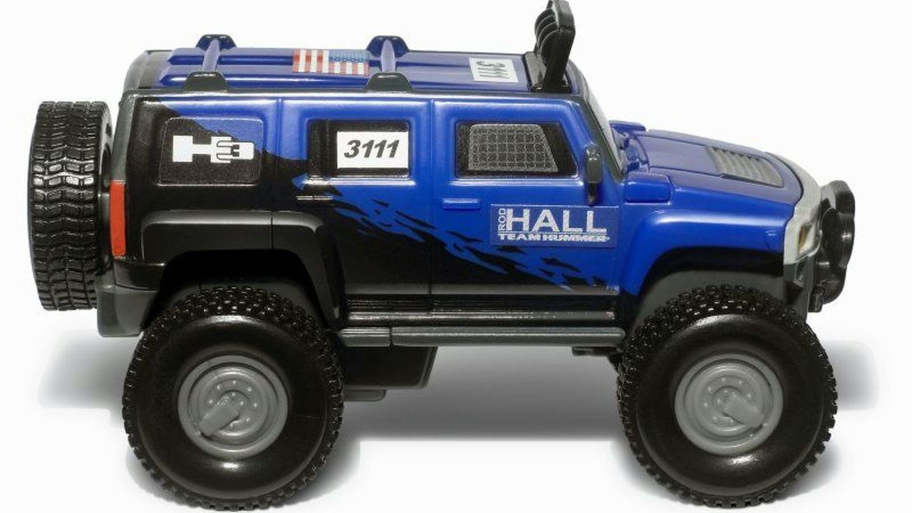 Ninth exclusive Team Hummer Rod Hall toy