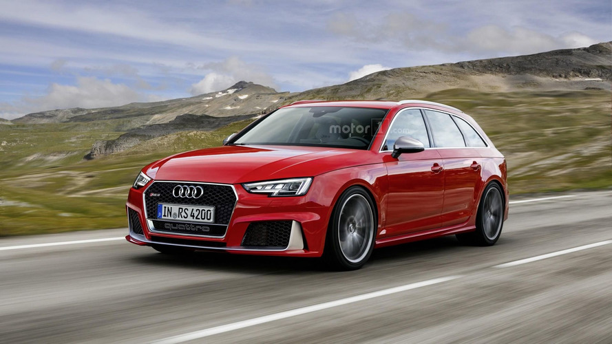 Expect the new Audi RS4 Avant to look a lot like this