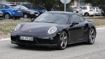 2015 Porsche 911 Turbo Facelift spy photo